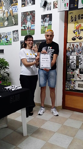 Juventus DOC Alex Del Piero – anni DOC