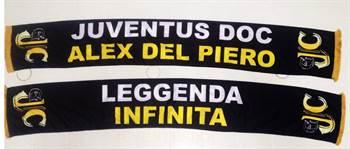 Juventus DOC Alex Del Piero – Sciarpa ufficiale