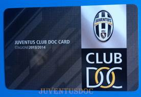 Juventus DOC Alex Del Piero – Tessera DOC 2013