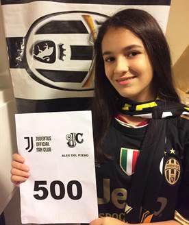 Juventus OFC Alex Del Piero – Lucia 500